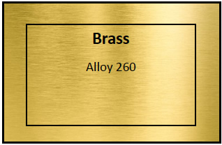 Brass Etching Materials