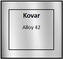 Kovar Etching Materials