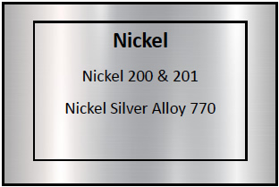 Nickel Etching Materials