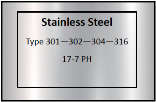 Stainless Steel Etching Materials