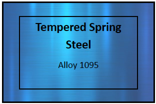 Tempered Spring Steel Etching Materials